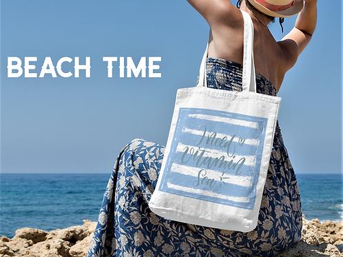 Vitamin Sea Tote Bag - Carry All Tote Bag - Beach Bag