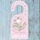 Thumbnail: Cute Nautical themed door hanger for kids, sailing boats, hangers, door signs