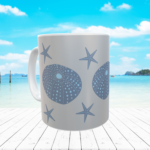 Sea Urchin and Starfish MUG