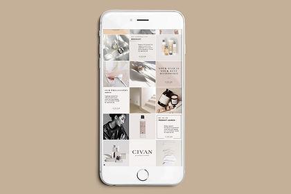 Laura Lindenmann LL Designstudio Socialmedia Instagram Feed Design