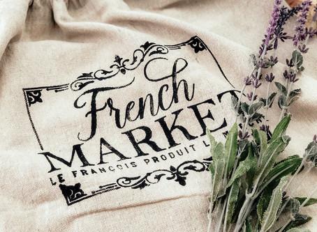 DIY French Market Tote Bag
