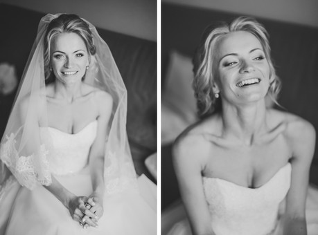 Утро невесты, свадебная фотосессия, съемка невесты, портретная съемка, чб фотография, свадьба