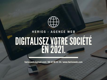 📱 Avez-vous comme projet de digitaliser votre société en 2021 ? 📱