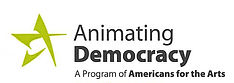 animating democracy logo