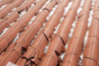 Broke roof tiles for Matter Management at Labor Street