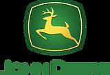 john deere logo. yellow stag on green background above words john deere. consilium client.