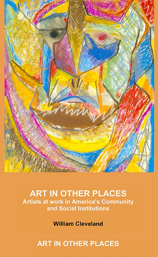 book cover for art in other places