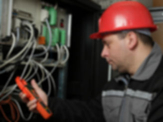 Man inspecting in construction for Home Inspection Software at Labor Street
