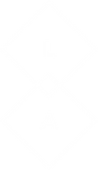 lexington academy logo interconnecting diamonds with the letters L and A in each white space design collective WSDC