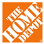 The Home Depot logo in grayscale