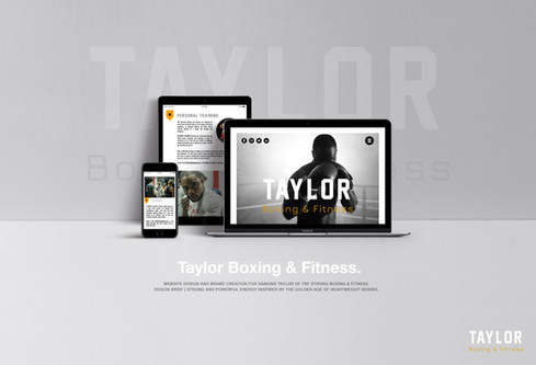 Taylor Boxing & Fitness.