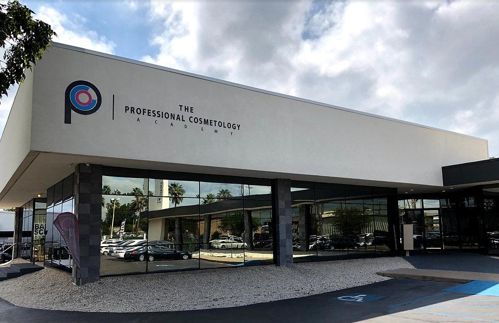 exterior of academy building tpca