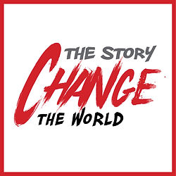 change the story change the world podcast logo csac