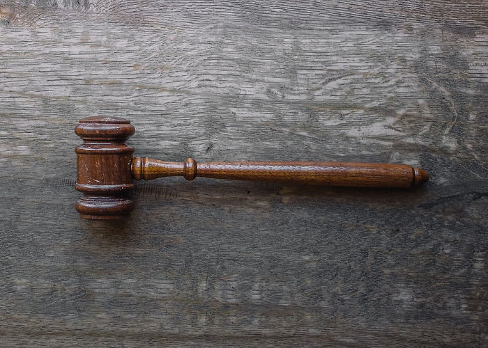gavel on wood surface o'leary law office
