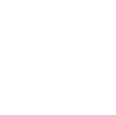 courthouse logo in white circle white space design collective wsdc