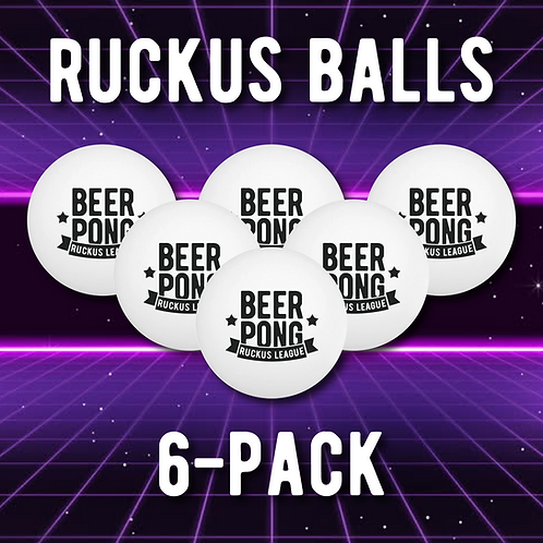 Ruckus Balls 6-Pack