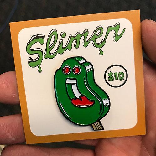Slimer Enamel Pin