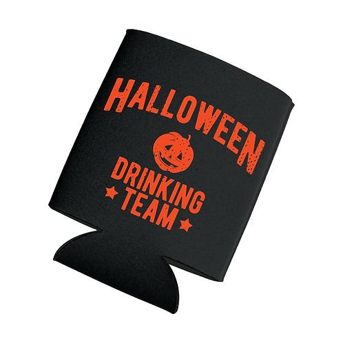 HalloweeN Drinking Team Koozie