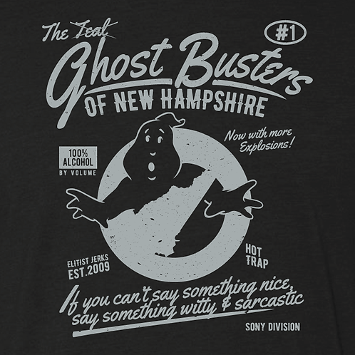 Ghostbusters of NH Shirt Collection