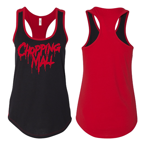 Chopping Mall Red DuelColor Racerback Tank LIMITED EDITION