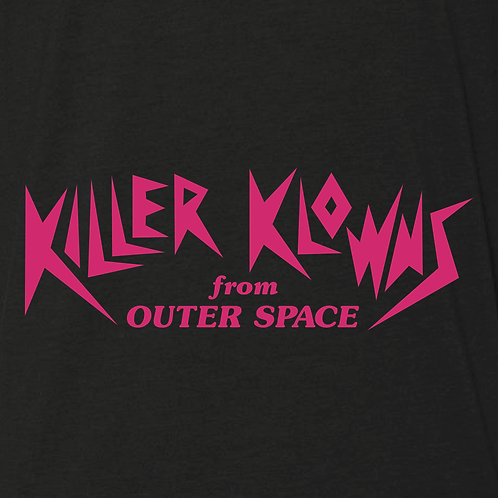 Killer Klowns from Outer Space Black Tee