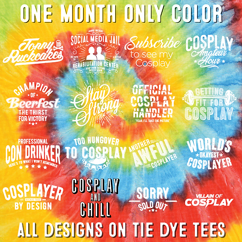 Tie Dye Collection