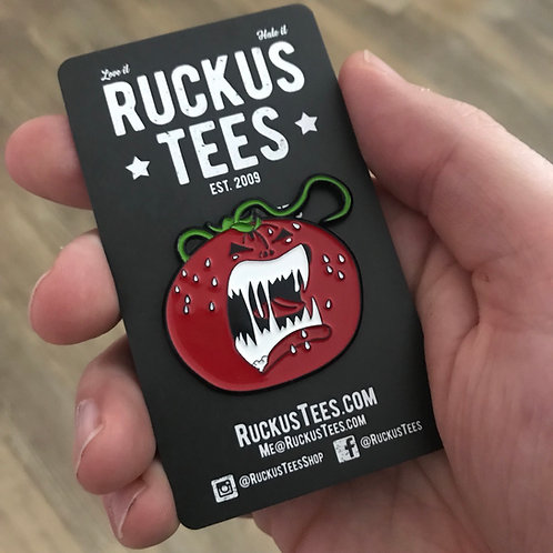 Attack of the Killer Tomatoes Enamel Pin