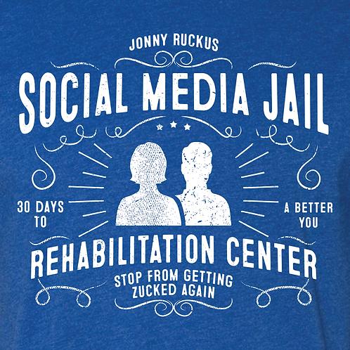 "Social Media Jail Rehabilitation Center Collection ""Zuck Blue"""