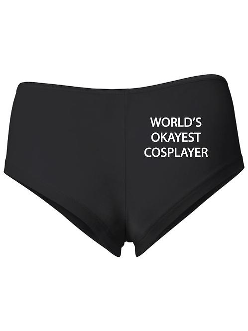 World's Okayest Cosplayer Booty Shorts