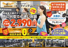 ビークイック イオン札幌栄町店 チラシ