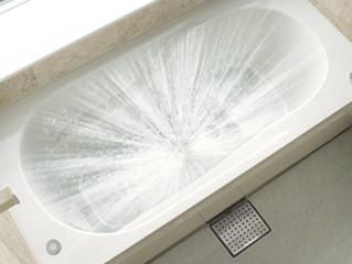 おそうじ浴槽で楽々