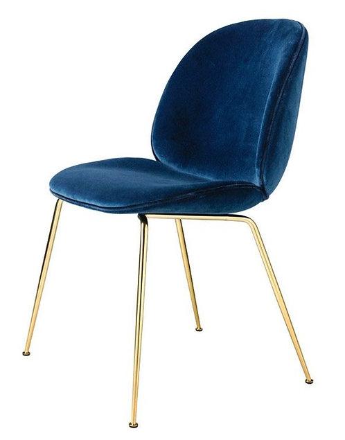Ulphostered Velvet Dining Chair