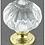 Thumbnail: 1-1/6 Pumpkin Acrylic Brass Knob