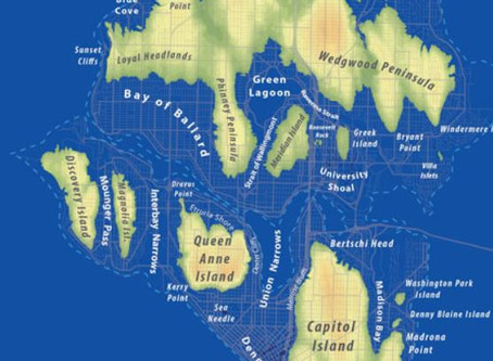 Seattle After A Big Rise In Sea Level
