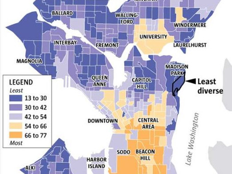 Seattle Neighborhood Diversity