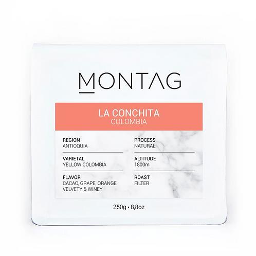 Montag / Kolombiya LA CONCHITA
