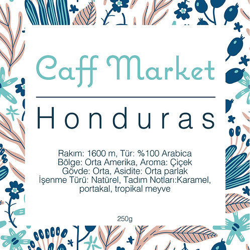 Honduras Çekirdek Kahve 250gr