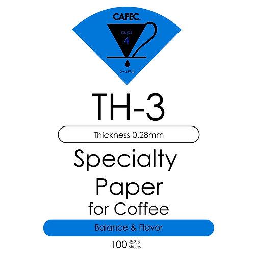 Cafec TH-3 Filtre Kağıdı 100 Adet
