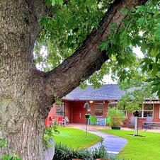 Kiowa District Manor Courtyard