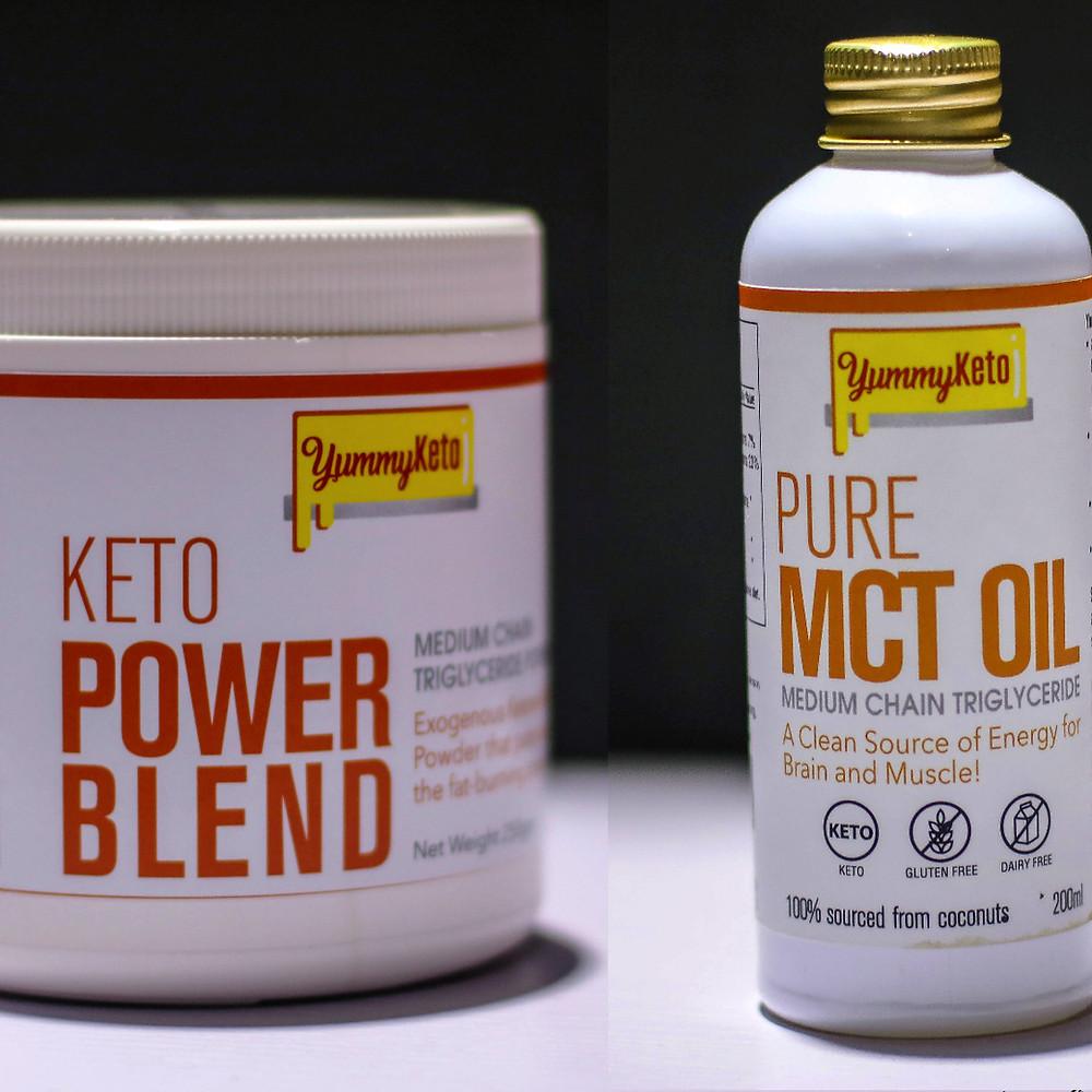MCT powder & MCT oil