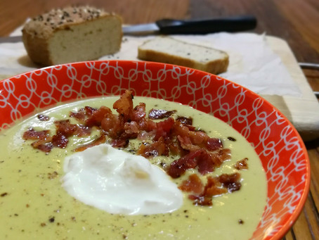 Recipe for Keto Creamy Broccoli Soup