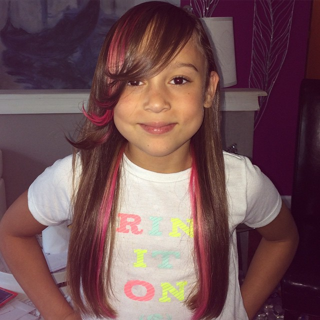 Instagram - #Pinkhair don't care! #hair #beauty  #Fun #Color #family