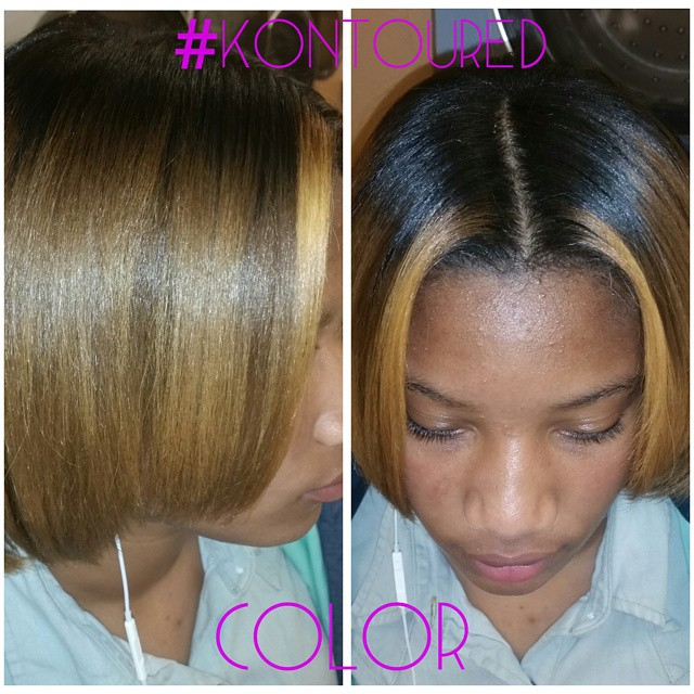 Instagram - #TinqRich #kreativekontour #ThatHairCHIK #HAIRSTYLIST #hair #color #