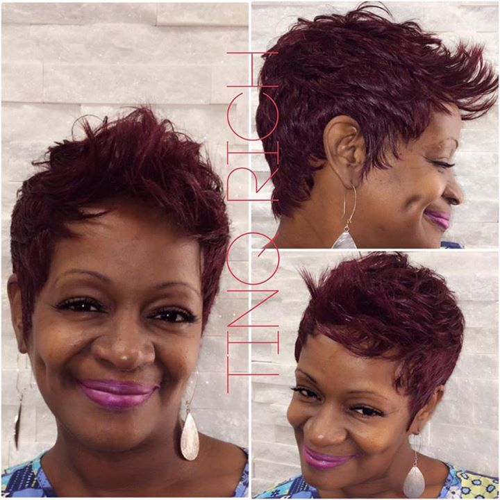 Facebook - She's been KONTOURED! #WIG #stylechange #Kontoured #Hair #CUSTOM #Tin