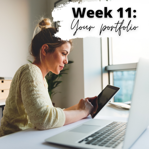 Week 11: Building a Portfolio with Personality