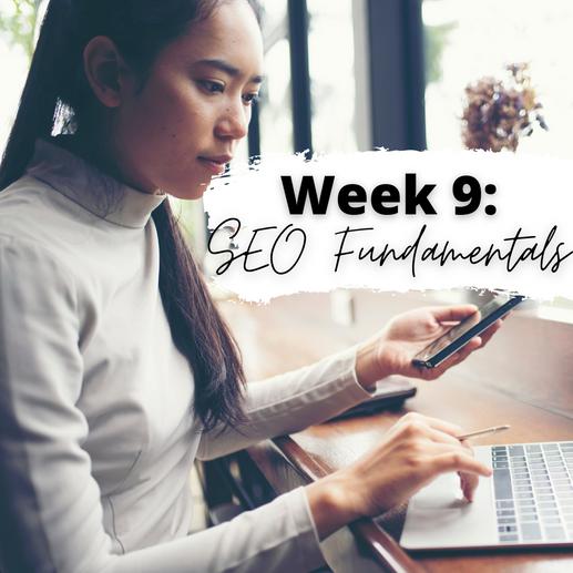 Week 9: SEO Fundamentals