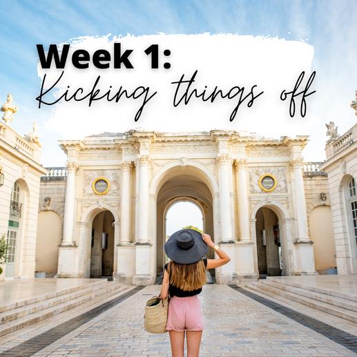 Week 1: Kicking Things Off