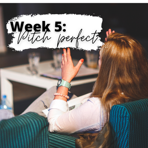 Week 5: Pitch Perfect