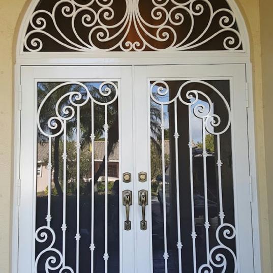 Ornamental Entry Door