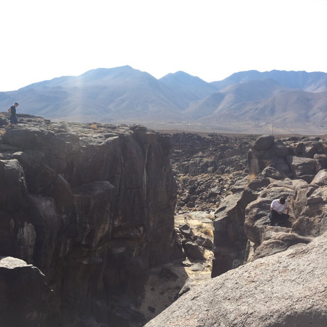Fossil Falls Campgrounds Recreation Site, CA